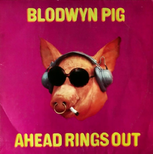 Blodwyn Pig ‎- Ahead Rings Out (LP) (VG-/F++)